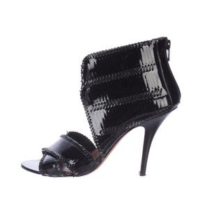 Givenchy   Black patent leather Sandals
